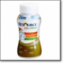 RESOURCE 2.0+fibre Kaffee 4x200ml